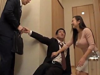 Hasegawa Mai Wife Cheats On Husband With His Boss Porn Videos